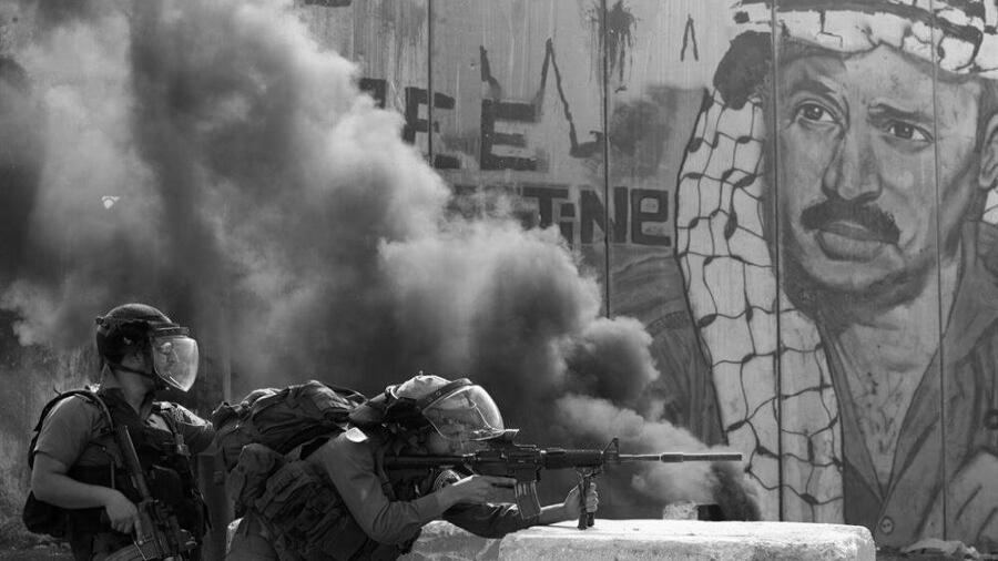 Palestina represion israeli soldados la-tinta