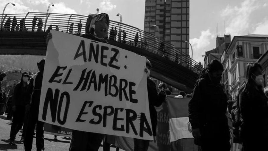 Bolivia Añez pobreza la-tinta