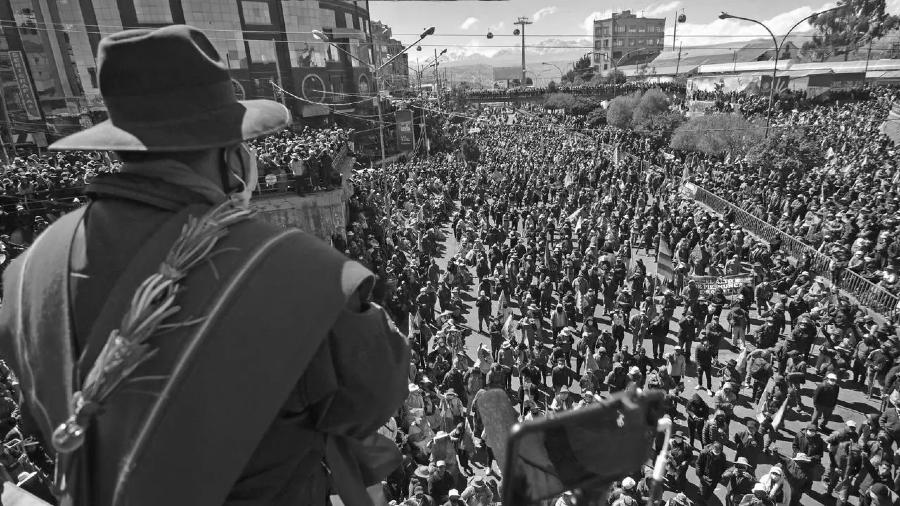 Bolivia bloqueos elecciones la-tinta