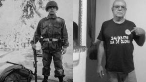 Investigan si manifestante anticuarentena se autoincriminó en delitos cometidos durante la dictadura