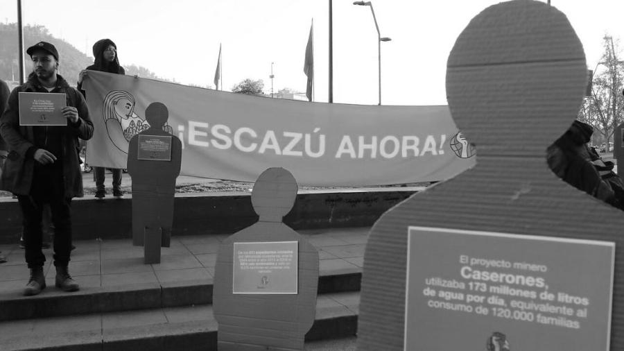 Chile acuerdo escazu protesta la-tinta