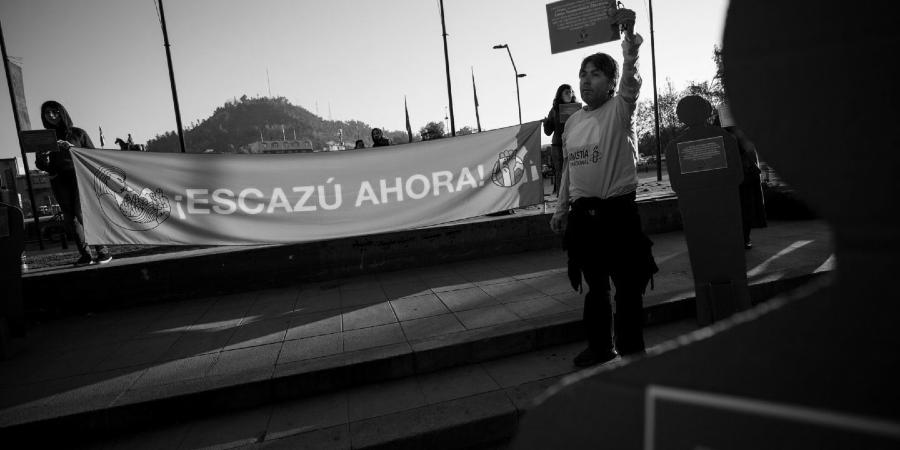 Chile protesta acuerdo de escazu la-tinta