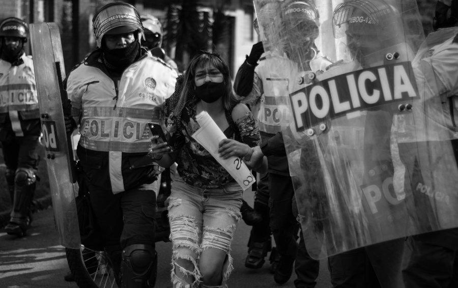 Colombia abuso policial la-tinta
