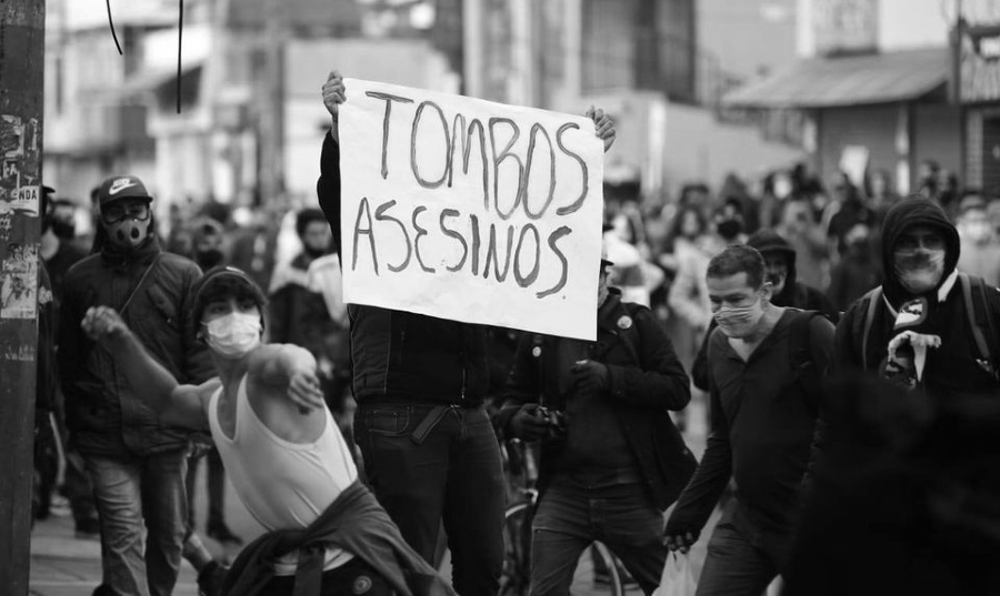 Colombia protestas contra la policia la-tinta