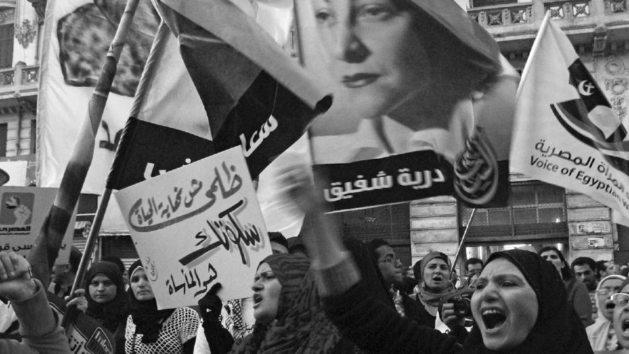 Egipto mujeres protestas la-tinta