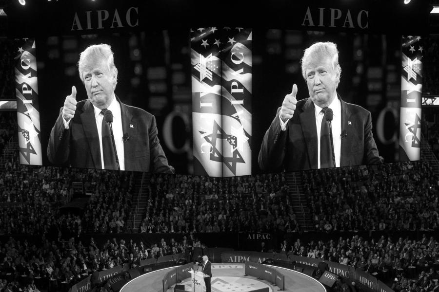 Estados Unidos AIPAC Donald Trump la-tinta
