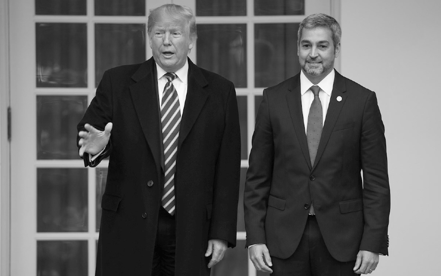 Estados Unidos Abdo Benitez Donald Trump la-tinta
