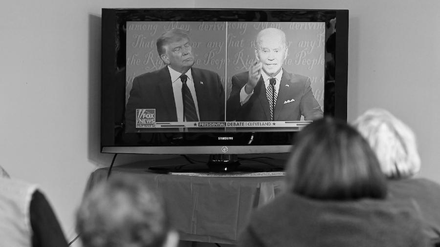 Estados Unidos Trump Biden debate la-tinta