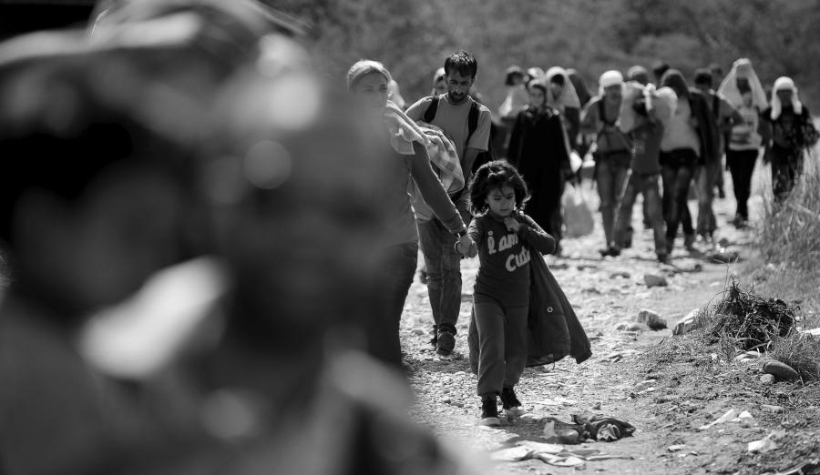 Europa refugiadas niñas la-tinta