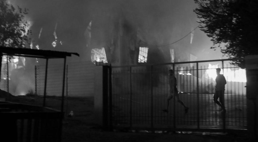 Grecia Moria incendio la-tinta
