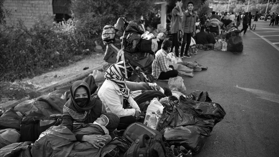 Grecia Moria refugiados la-tinta