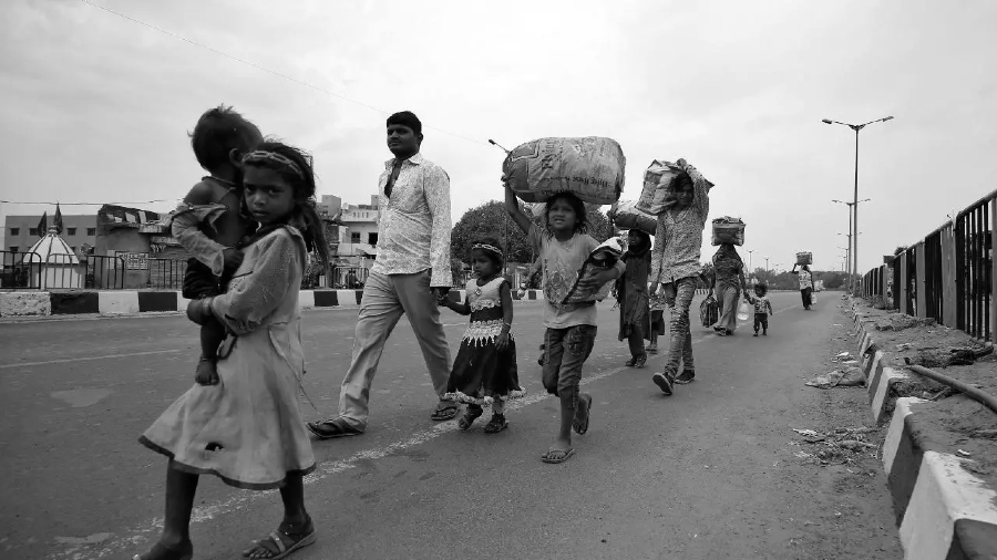 India coronavirus pobreza la-tinta