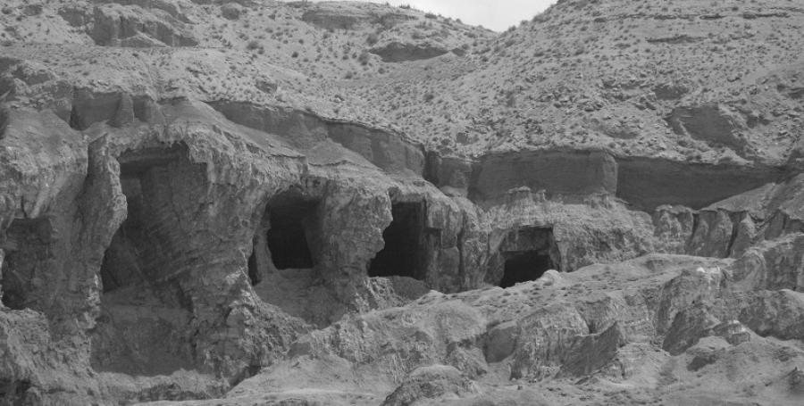 Kurdistan provincia de Van cuevas la-tinta