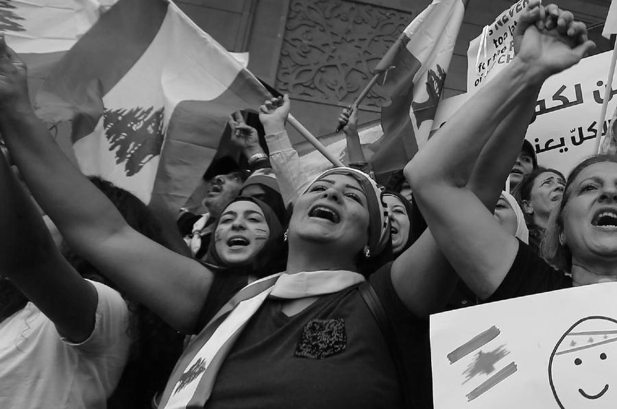 Libano mujeres protestas la-tinta