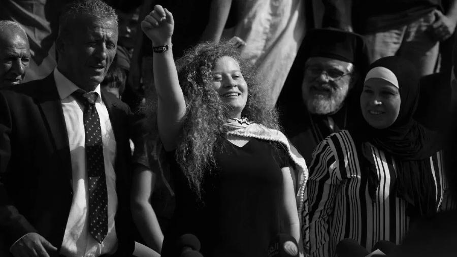 Palestina Ahed Tamimi liberacion la-tinta