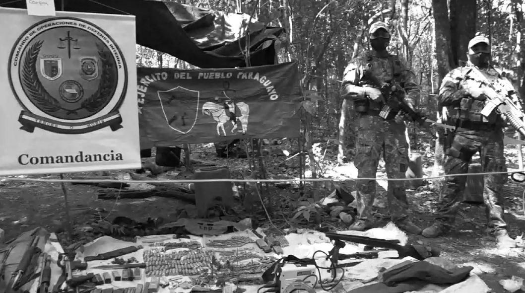 Paraguay fuerzas especiales asesinan niñas la-tinta