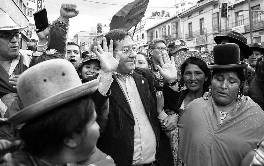 Bolivia Luis Arce candidato del MAS la-tinta