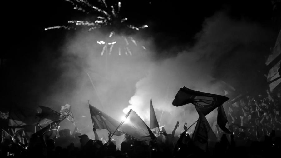Chile Plebiscito Santiago festejos la-tinta