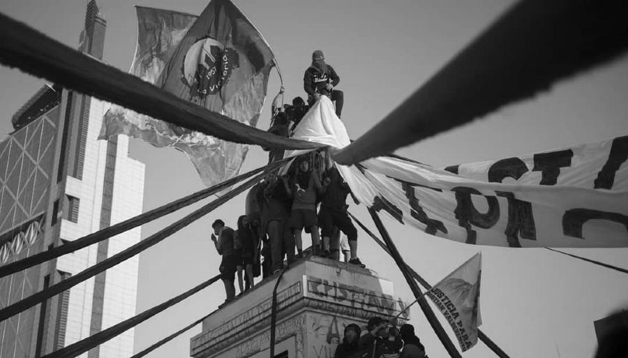 Chile movilizacion plebiscito la-tinta