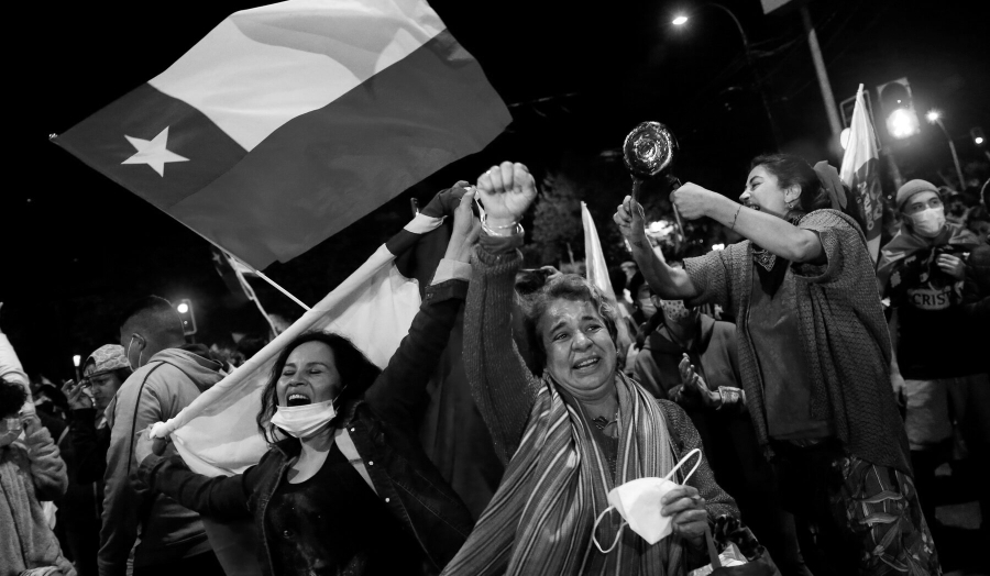 Chile nueva constitucion festejos la-tinta