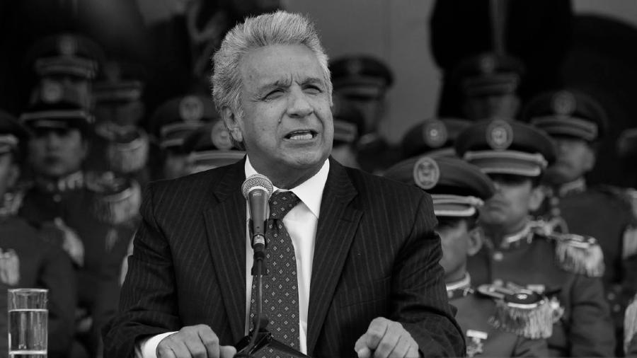 Ecuador Lenin Moreno fuerzas armadas la-tinta