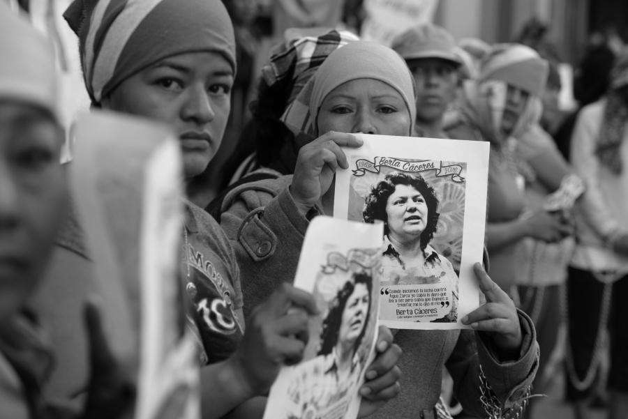 Honduras Berta Caceres justicia la-tinta