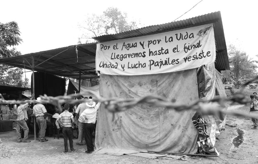 Honduras lucha por el agua la-tinta