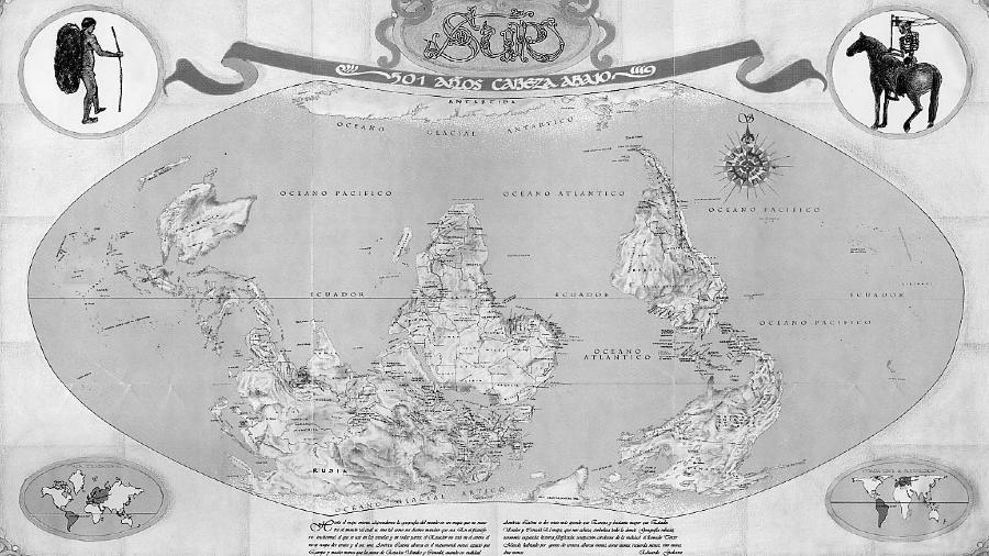 Mapa sistema mundo la-tinta