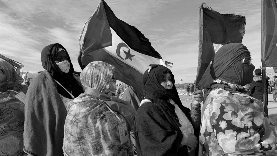 Sahara Occidental mujeres del Polisario la-tinta