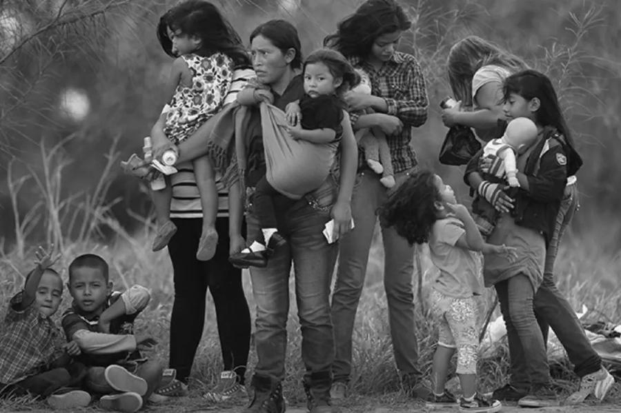 America Latina migracion de mujeres y niños la-tinta