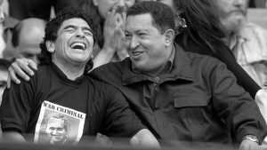Maradona en todos lados