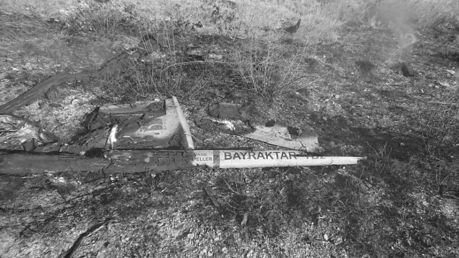 Armenia dron turco derribado la-tinta