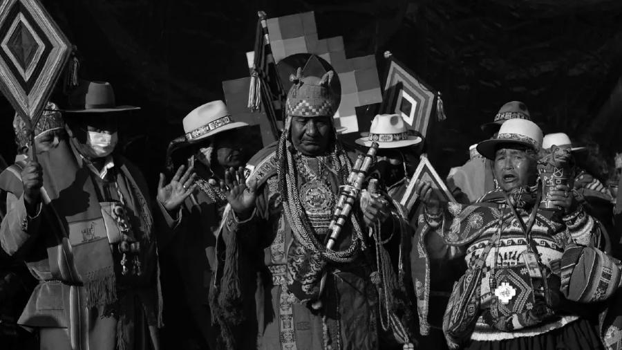 Bolivia actos de asuncion de Luis Arce la-tinta