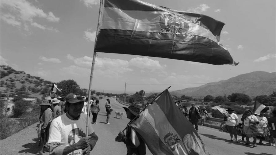 Bolivia seguidores del MAS se movilizan la-tinta