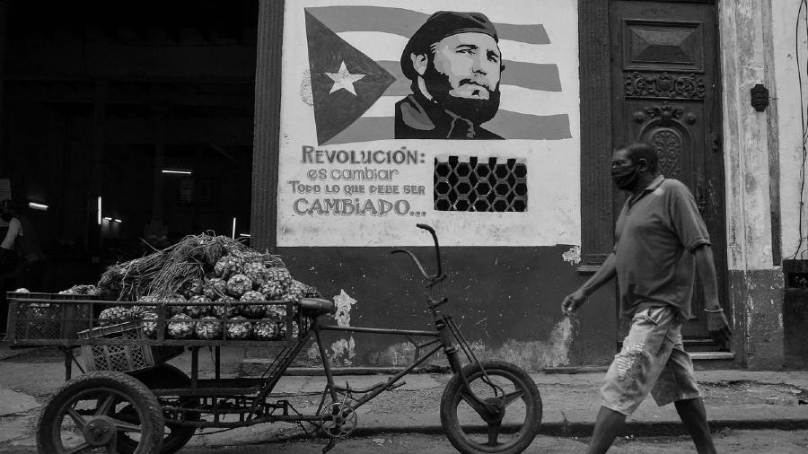 Cuba Fidel La Habana coronavirus la-tinta