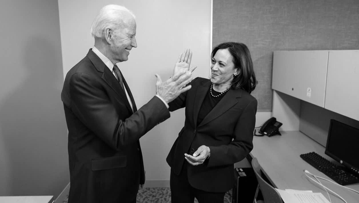 Estados Unidos Kamala Harris Joe Biden la-tinta