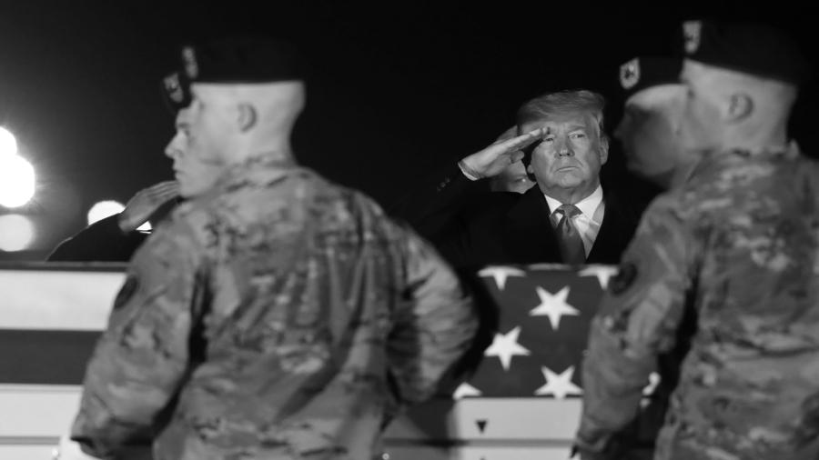 Estados Unidos Trump militares la-tinta