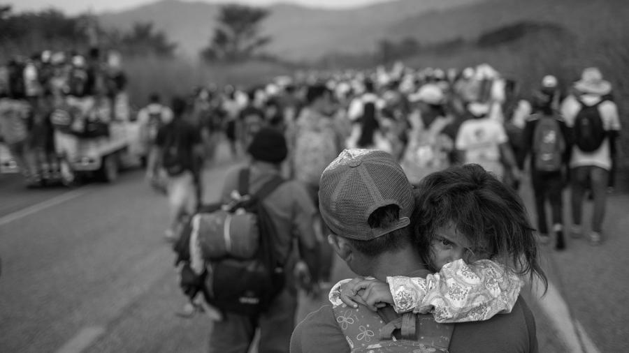 Estados Unidos caravana migrante la-tinta