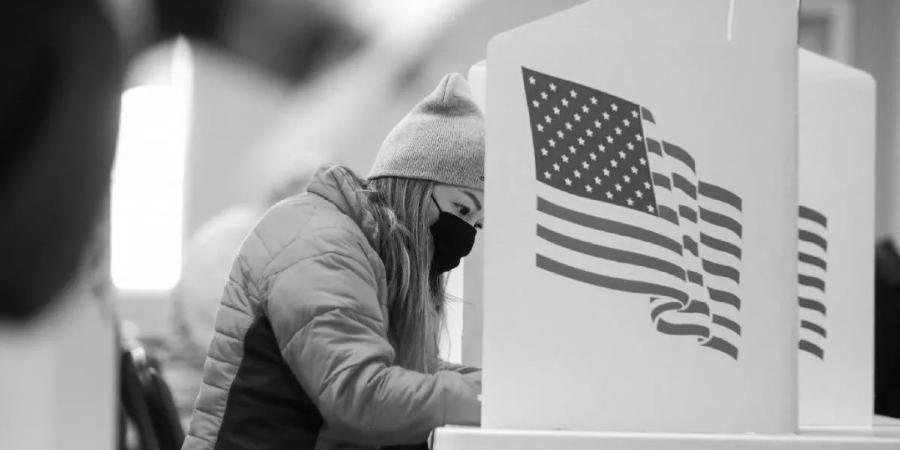 Estados Unidos centros de votacion participacion la-tinta