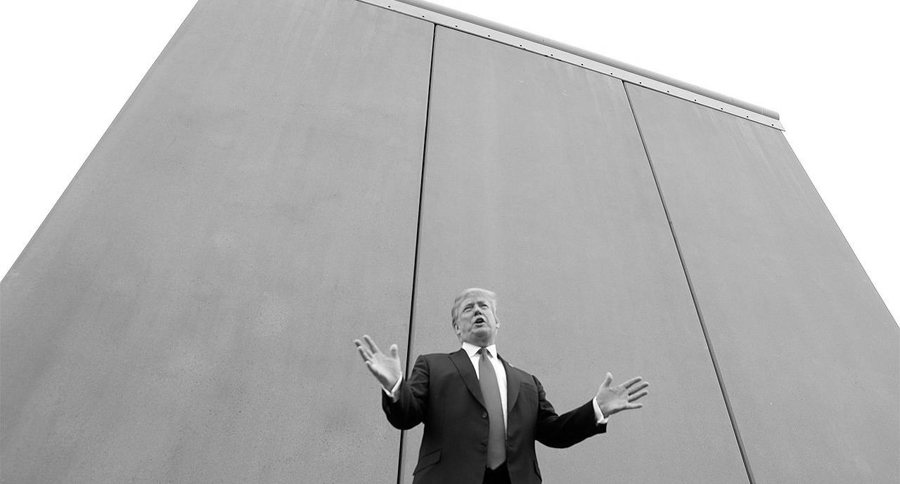 Estados Unidos muro Mexico la-tinta