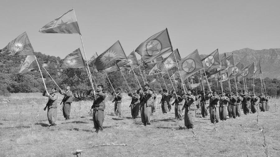 Kurdistan Qandil guerrilla PKK la-tinta