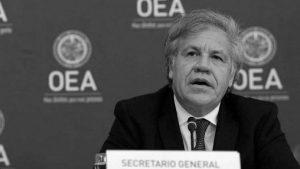 Luis Almagro otra vez hizo de las suyas en el autogolpe de Guatemala