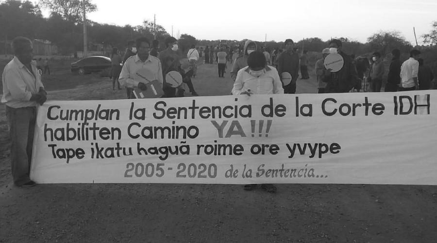 Paraguay comunidad indigena CIDH la-tinta