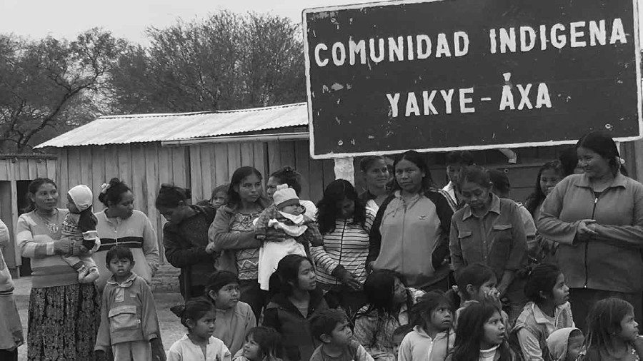 Paraguay comunidad yakye axa la-tinta
