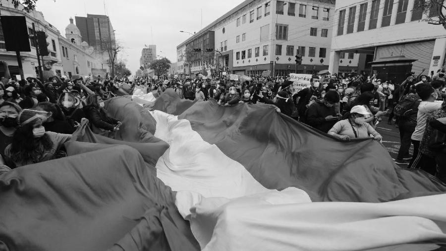 Peru protestas populares la-tinta