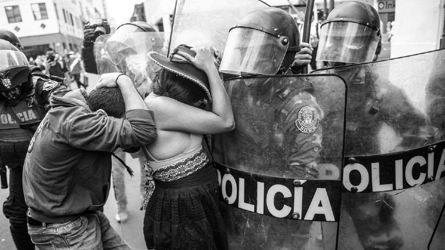 Peru represion a protestas la-tinta