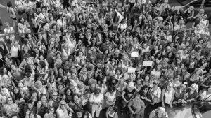 #MareaPlateada: nada detiene la revolución de las viejas