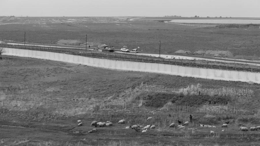 Rojava muro de separacion turquia la-tinta