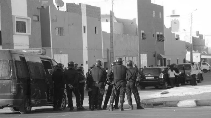 Sahara El Aaiun policia marroqui la-tinta