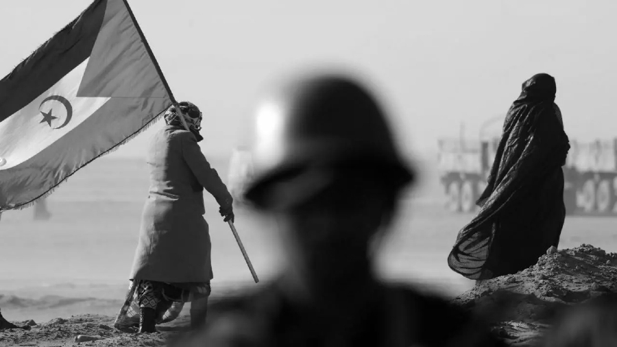 Sahara Occidental mujeres en el desierto la-tinta